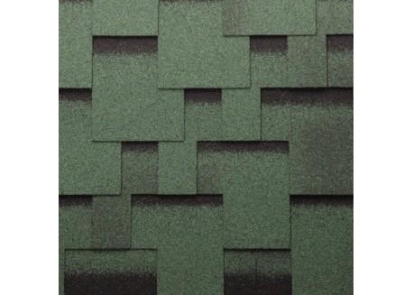 Bituminės lanksčiosios čerpės Akordas Džaivas: žalia