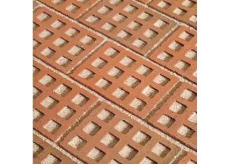 Klinkerinės ažūrinės grindinio trinkelės STT Raudona