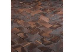 Klinkerinės grindinio trinkelės Coq de bruyere