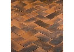 Klinkerinės grindinio trinkelės Terre de rose