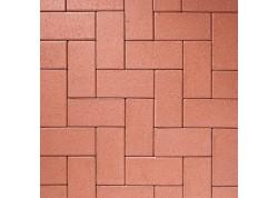 Klinkerinės grindinio trinkelės 0905 Rot-Nuanciert