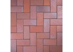 Klinkerinės grindinio trinkelės 0965 Eisenschmelz bunt