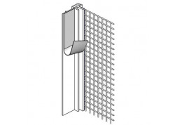PVC deformacinis profilis su tinkleliu Ejot Profil 108