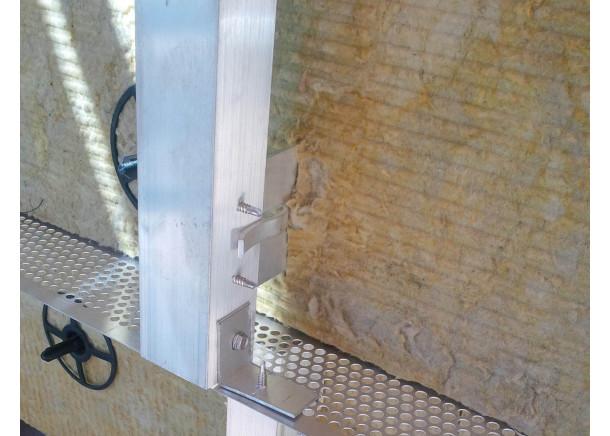 Perforuota ventiliuojamo fasado juosta 89x2500mm, aliuminis