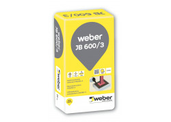 Nesitraukiantis betonas Weber.vetonit JB 600/3