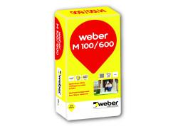 Spalvotas mūro mišinys Weber M100/600