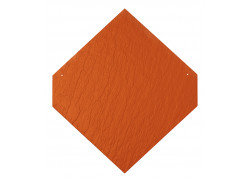 Plokštelė Cedral, smailiabriaunis dengimas - Klasikinė raudona