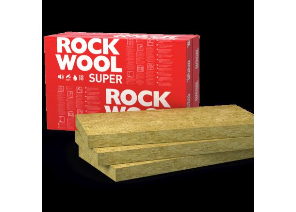 Akmens vata Rockwool Superrock