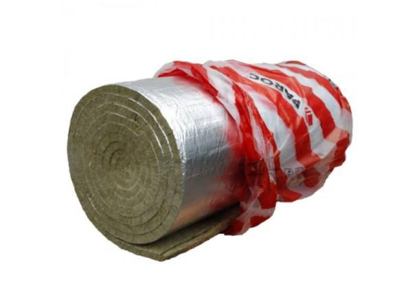 Akmens vatos demblys Paroc Hvac Lamella Mat AluCoat, su aliuminio folija
