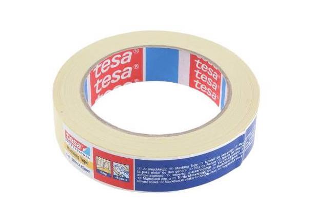 Dažymo juosta Tesa Masking 4323, bendros paskirties - 25 mm