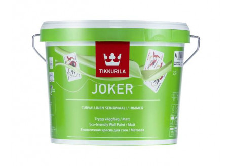 Dažai Tikkurila Joker A, sienoms, nealergizuojantys, 2.7 L