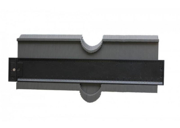 Šablonas Edma Duplic Form, kontūrų atkartojimui, 25cm
