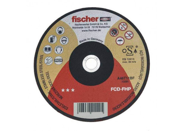 Metalo pjovimo diskas Fischer