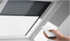 Saulės energija ir nuotoliniu būdu valdomos išorinės žaliuzės