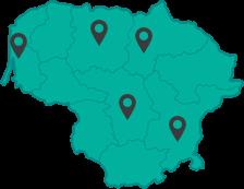 kontaktų žemėlapis